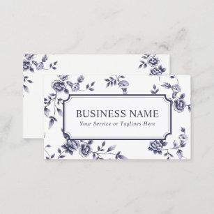 Elegante Hochzeit Visitenkarten Zazzle De