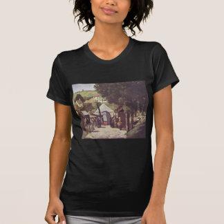 Eremitage, Pontoise durch Paul Cezanne T-Shirt