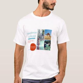Erfahren Sie die Welt werden ein Polyglot T-Shirt
