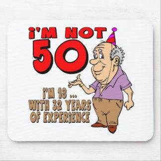 Erfahrene 18 Jährig-50. Geburtstags-Geschenke Mousepads