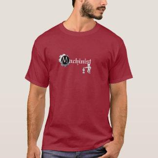 Erfahrenes Maschinist-T-Shirt T-Shirt