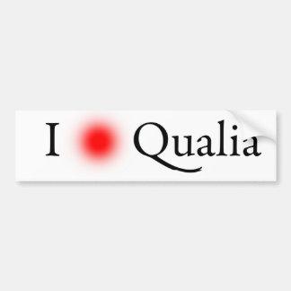 Erfahrung Qualia v2 Autoaufkleber