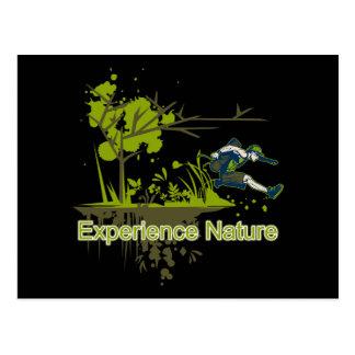 Erfahrungs-Natur Postkarte