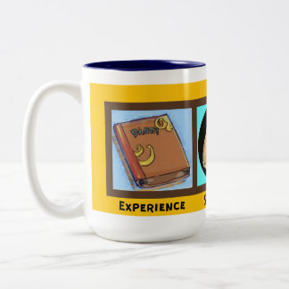 Erfahrungsstärke und -hoffnung zweifarbige tasse