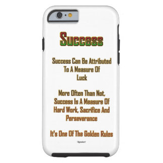 Erfolg Tough iPhone 6 Hülle
