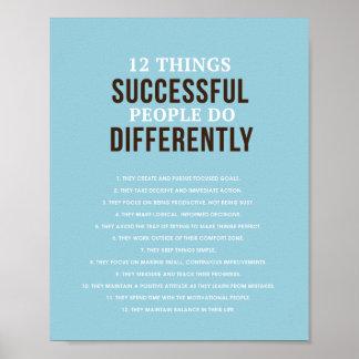 """Erfolgreiche Leute 8"""" x 10"""" Kunst-Druck Poster"""