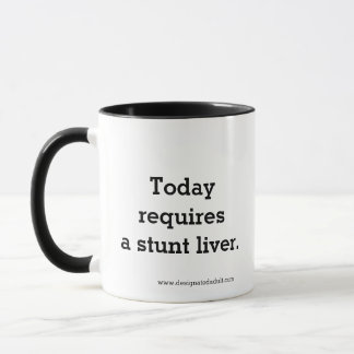 Erfordert heute eine Bremsungs-Leber - Tasse