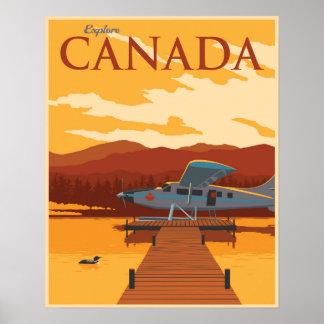 Erforschen Sie Kanada! Poster