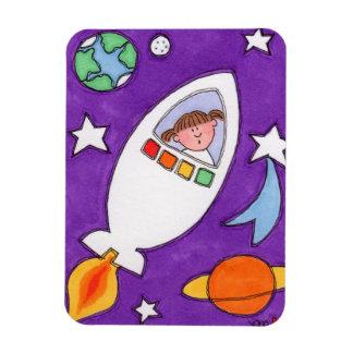 """Erforschung die Galaxie Rocketship 3"""""""" Magnet des"""