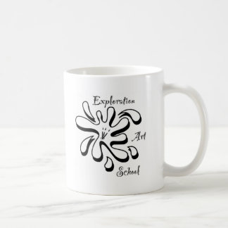 Erforschungs-Kunstakademie-Waren Kaffeetasse