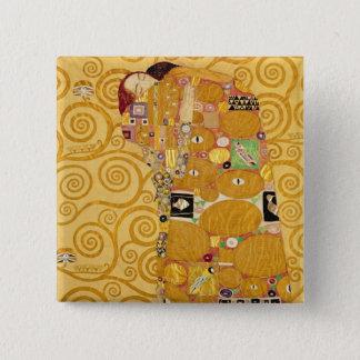 Erfüllung (Stoclet Fries) c.1905-09 Quadratischer Button 5,1 Cm