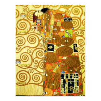Erfüllungs-Postkarte Gustav Klimt Postkarte