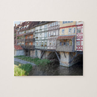 Erfurt-Kaufmanns-Brücken-Foto Puzzle