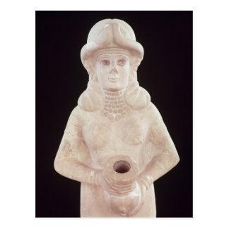 Ergiebigkeitsgöttin, von Mari, mittlerer Euphrat Postkarte