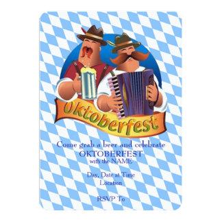 Ergreifen Sie ein Bier Oktoberfest Party 12,7 X 17,8 Cm Einladungskarte