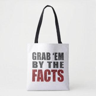 Ergreifen Sie sie durch die Tatsachen, Taschen-, Tasche