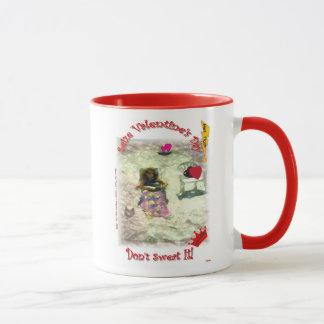 Ergreifen Sie Valentinstag, indem Sie Ihr Tasse