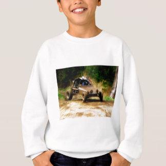 Erhalten der Luft in einer Dünen-Buggy Sweatshirt
