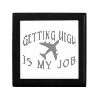 Erhalten des hohen Fluglinien-Piloten Erinnerungskiste
