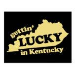 Erhalten glücklich in Kentucky Postkarten