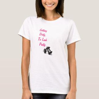 Erhalten schmutzig, hübsch zu schauen T-Shirt