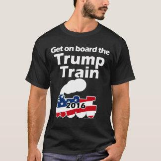 Erhalten Sie an Bord des Zugs Donald Trump für T-Shirt