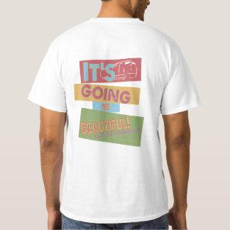 Erhalten Sie auf dem Trumpf-Zug-T-Shirt T-Shirt