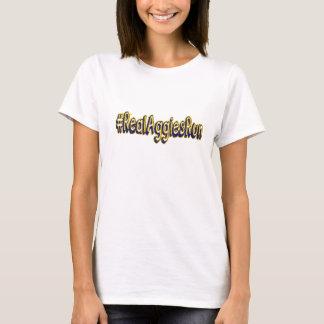 Erhalten Sie das Weiß der geeigneten Frauen T-Shirt