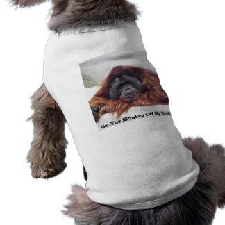 Erhalten Sie den Affen weg von meiner Rückseite Shirt