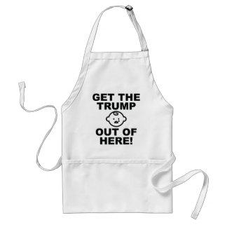 Erhalten Sie den Trumpf aus hier - ANTITrumpf 2016 Schürze