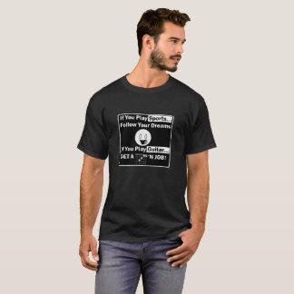 Erhalten Sie einen Job Gitarristen T-Shirt