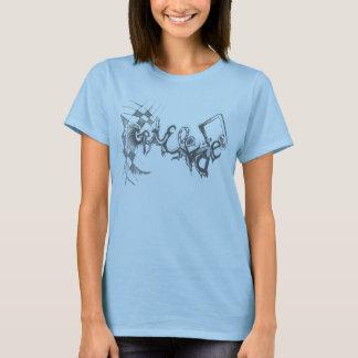 Erhalten Sie erhöhtes Mädchen T-Shirt