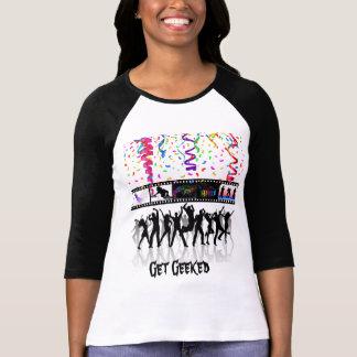 Erhalten Sie Geeked langes Sleve T T-Shirt