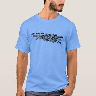 Erhalten Sie geknotetes Klettern-T-Stück T-Shirt
