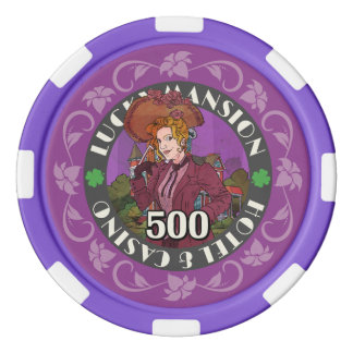 Erhalten Sie glückliche Poker-Chips Poker Chips