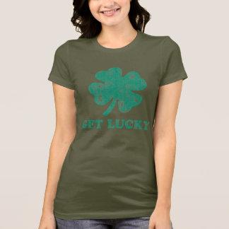 Erhalten Sie glücklichen St Patrick Tag T-Shirt