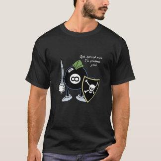 Erhalten Sie hinter dem 8-Ball T-Shirt