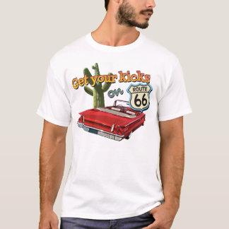 Erhalten Sie Ihre Tritte T-Shirt