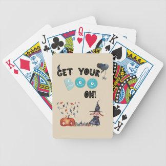 Erhalten Sie Ihren Boo an! Spielkarten
