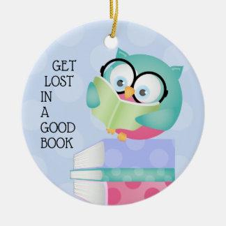 Erhalten Sie in einem guten Buch JUNGEN verloren Keramik Ornament