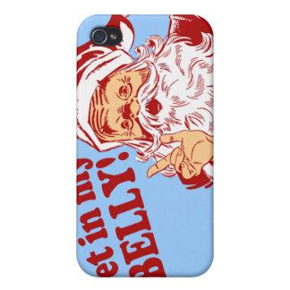 Erhalten Sie in meinem Bauch-lustigen Weihnachten Schutzhülle Fürs iPhone 4