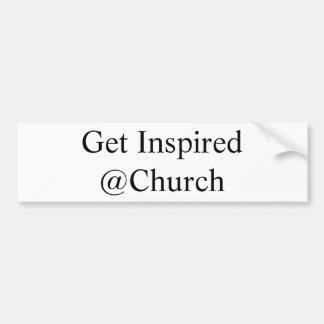 Erhalten Sie inspirierten @Church Aufkleber Autoaufkleber