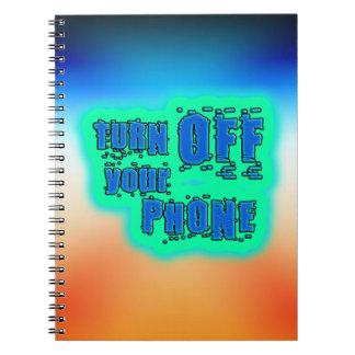 Erhalten Sie inspiriertes ~ abstellen Ihr Telefon Notizblock