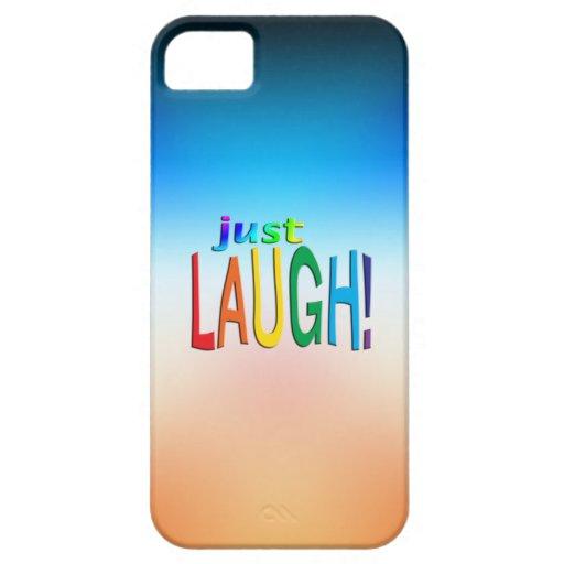 Erhalten Sie inspiriertes ~ gerade Lachen! iPhone 5 Etui