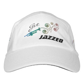 Erhalten Sie Jazzed - Jazz-Trompete-Musik-Hut Headsweats Kappe