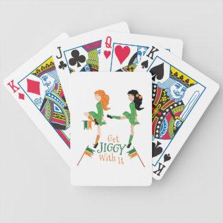Erhalten Sie Jiggy Bicycle Spielkarten