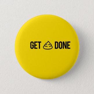 Erhalten Sie Material erfolgtes, lustiges Runder Button 5,1 Cm