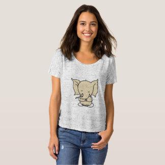 Erhalten Sie, meditierend mit diesem niedlichen T-Shirt