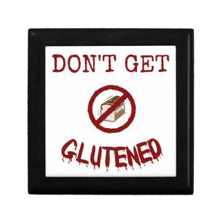 Erhalten Sie nicht Glutened Schmuckschachtel