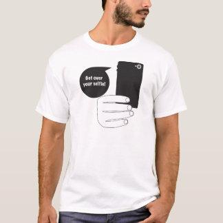 Erhalten Sie über Ihrem Selfie T-Shirt